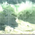 Waves Photo Wall Mural Room Wall Dining Renovation Interior Idea