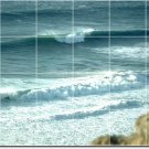 Waves Picture Dining Room Mural Tile Wall Contemporary Renovate