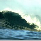 Waves Photo Room Dining Floor Wall Murals Modern Home Remodeling