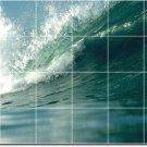 Waves Image Room Murals Floor Wall Dining Renovations Idea House