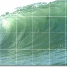 Waves Picture Room Mural Tile Dining Wall Modern Interior Decor