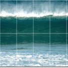 Waves Photo Room Mural Tiles Wall Dining Ideas Renovate Interior