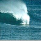 Waves Image Living Wall Room Tiles Mural Renovation House Design