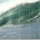 Waves Image Tiles Mural Mural Room Wall Decorating Interior Idea