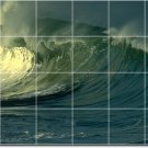 Waves Image Wall Room Murals Wall Living Contemporary Remodeling