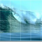 Waves Picture Murals Kitchen Wall Tile Idea Interior Remodeling