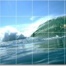 Waves Image Wall Murals Wall Room Living Design House Remodeling