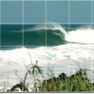 Waves Photo Wall Living Room Wall Murals Design Remodeling House