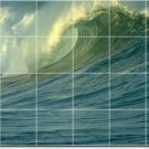 Waves Picture Room Wall Tile Dining Construction Commercial Idea