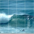 Waves Picture Room Tile Dining Wall Construction Idea Commercial