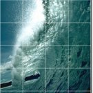 Waves Image Wall Room Wall Murals Living Home Modern Renovations