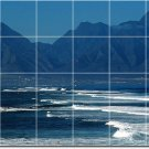 Waves Image Room Wall Tile Mural Dining Modern Renovate Interior