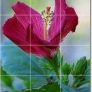 Flowers Photo Backsplash Wall Tile Construction Residential Idea