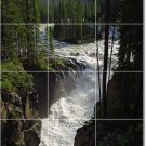 Lakes Rivers Photo Tiles Dining Wall Room House Idea Remodeling