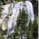 Waterfalls Picture Wall Bathroom Shower Tile Modern Decor Home
