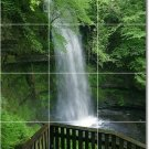 Waterfalls Picture Wall Bathroom Tile Shower Home Modern Decor