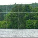 Lakes Rivers Picture Tile Bathroom Home Idea Construction Design