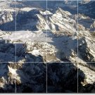 Mountains Image Murals Bedroom Floor Commercial Decorating Idea