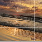 Sunsets Picture Mural Bedroom Tile Renovations Commercial Ideas