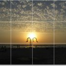 Sunsets Photo Room Dining Murals Wall Tile Remodeling Idea House
