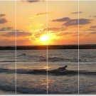 Sunsets Photo Bedroom Tiles Mural Wall Traditional Renovate Home