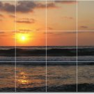Sunsets Image Mural Tiles Wall Bedroom Interior Renovations Idea