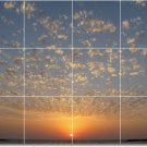 Sunsets Image Tiles Wall Mural Bedroom Idea Interior Renovations