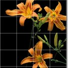 Flowers Image Room Wall Mural Living Tiles House Idea Renovation
