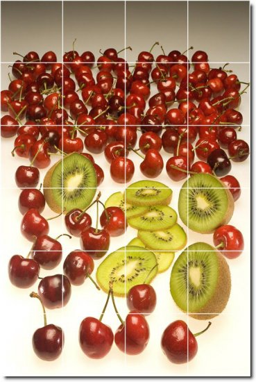 Fruits Vegetables Image Room Mural Tile Design Construction House