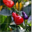 Fruits Vegetables Picture Bedroom Tile Mural Modern Renovate