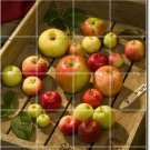 Fruits Vegetables Photo Shower Mural Wall Construction Home Ideas