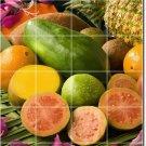 Fruits Vegetables Photo Tile Kitchen Wall Backsplash Modern House