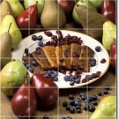 Fruits Vegetables Picture Murals Tile Dining Room Art Modern