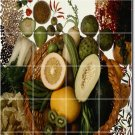 Fruits Vegetables Picture Mural Tiles Wall Room Living Wall