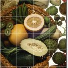 Fruits Vegetables Image Kitchen Tile Renovations Idea Residential