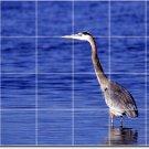 Birds Photo Shower Wall Mural Tile Idea Renovations Design House