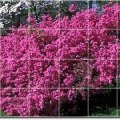 Flowers Photo Room Mural Dining Tile Renovations Interior Design