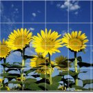 Flowers Picture Bathroom Shower Tiles House Decorate Remodeling