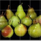 Fruits Vegetables Image Backsplash Mural Tiles Commercial Design