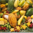 Fruits Vegetables Image Dining Mural Tiles Room Commercial Decor