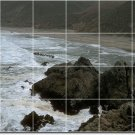 Lakes Rivers Photo Mural Tile Shower Decorate Home Traditional