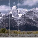 Mountains Photo Kitchen Wall Murals Wall Ideas Decorating House