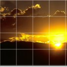 Sunsets Image Room Wall Tiles Commercial Idea Design Renovations