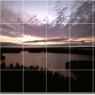 Sunsets Image Wall Room Tiles Renovations Commercial Idea Design