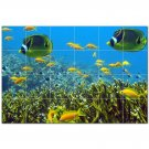 Coral Fish Underwater Ceramic Tile Mural Kitchen Backsplash Bathroom Shower 402999