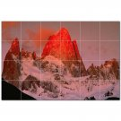 Mountain Picture Ceramic Tile Mural Kitchen Backsplash Bathroom Shower 405589