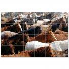 Horse Picture Ceramic Tile Mural Kitchen Backsplash Bathroom Shower 405298