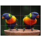 Bird Ceramic Tile Mural Kitchen Backsplash Bathroom Shower 402240