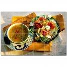 Food Photo Ceramic Tile Mural Kitchen Backsplash Bathroom Shower 405119