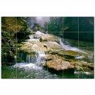 Waterfalls Ceramic Tile Mural Kitchen Backsplash Bathroom Shower 401743